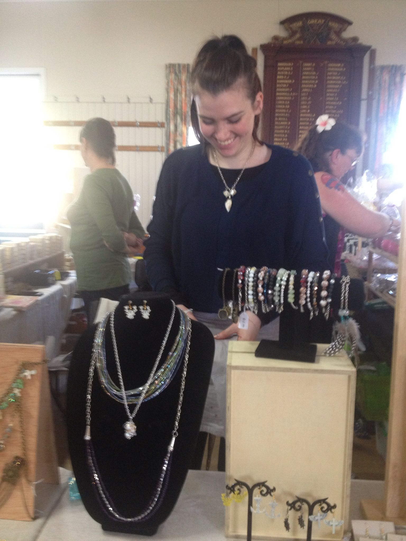 Casey and her pretty jewellery 3 Aug 2013