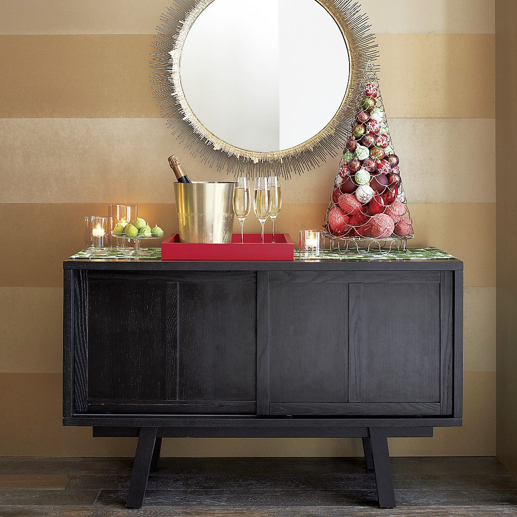 clarendon large round wall mirror reviews crate and on wall mirrors id=89042