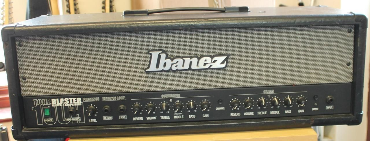 ibanez tone blaster 100h 120w guitar amplifier head findinstruments sold items marshall. Black Bedroom Furniture Sets. Home Design Ideas