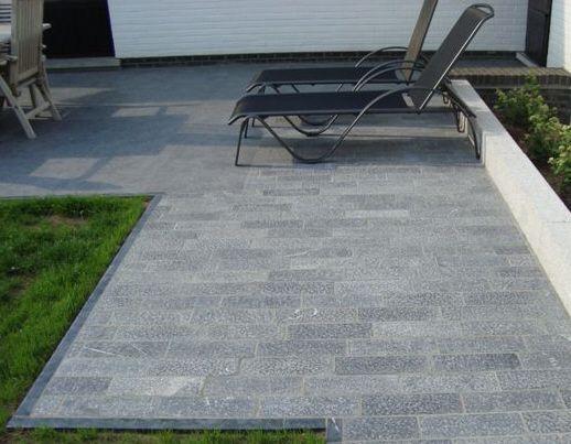 Terrasse En Pierre Naturelle Et Béton Catalogue De Nos Dalles Pour - Dalle en granit pour terrasse