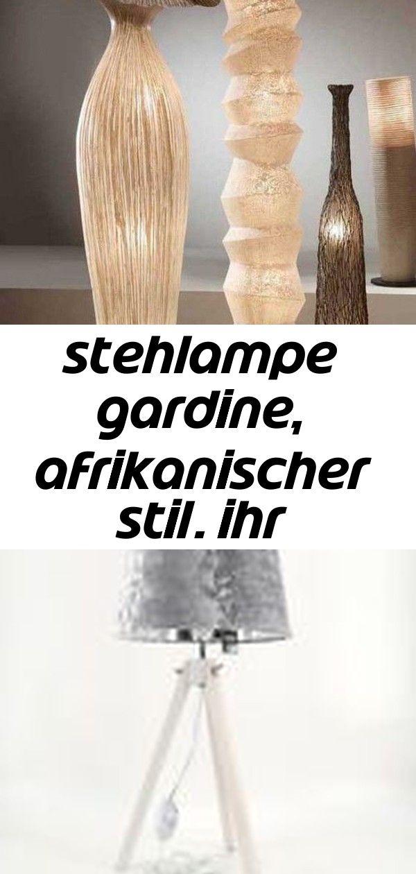 Stehlampe gardine, afrikanischer stil. ihr webshop für dekorative lampen und leuchten. 5 #afrikanischerstil