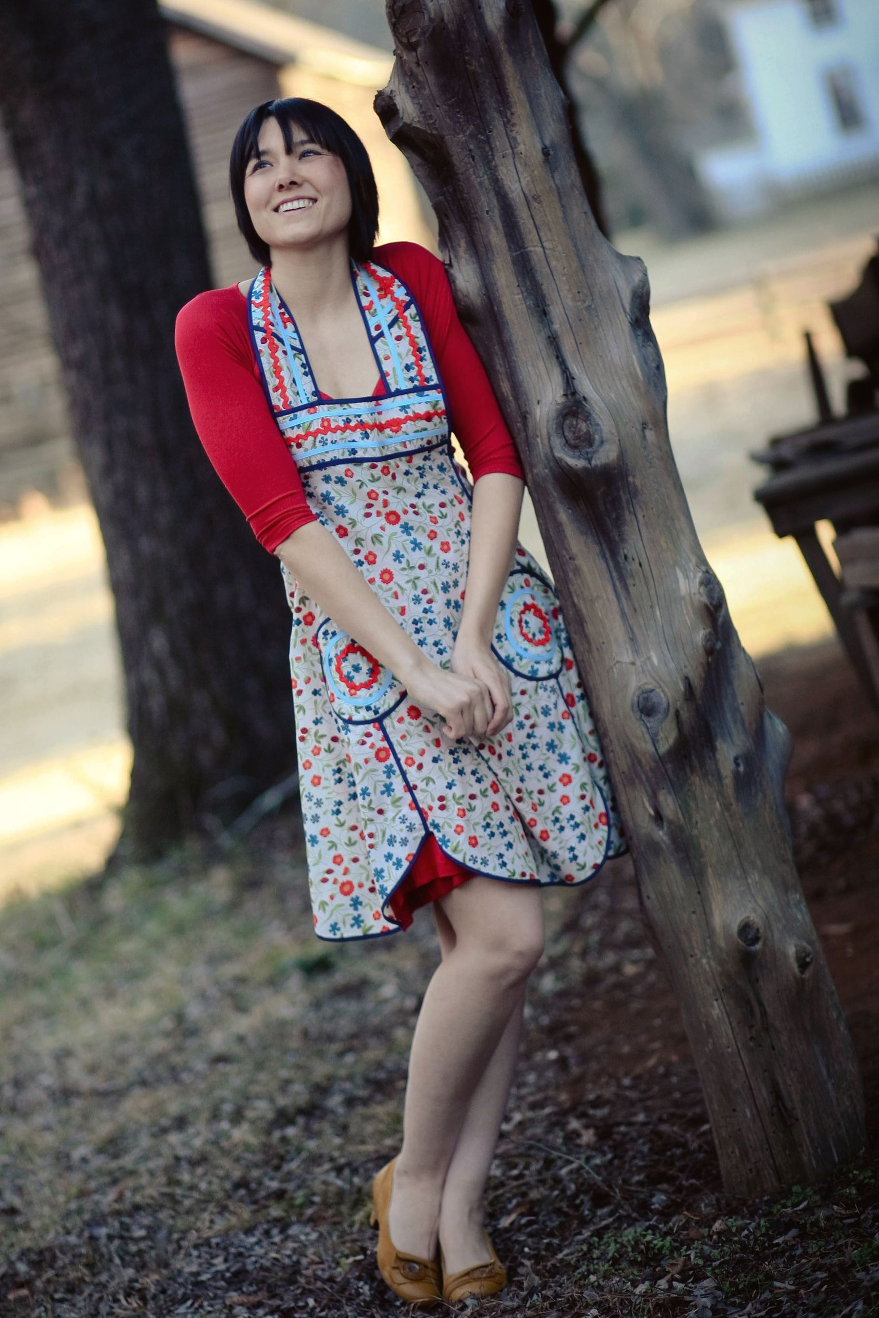 Lola (and Lolita) Apron Sewing Pattern  (Sale! soon to be discontinued)