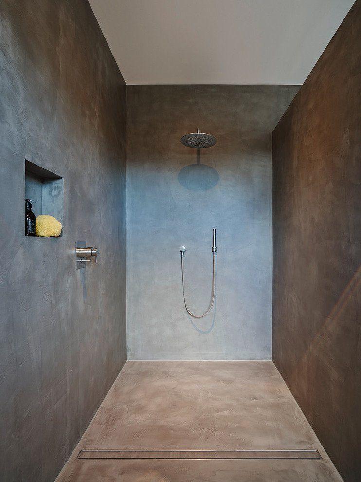 Eine Dusche Ohne Fliesen Fugenloses Bad Bad Einrichten Und