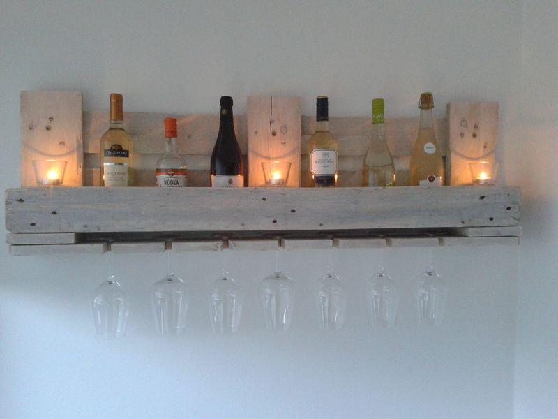 Weinregal aus Europalette von Nordi-Design auf DaWanda.com | Cool ...