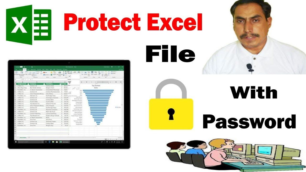 How To Protect Excel File To Open With Password Password Protect Exce In 2020 Excel Tutorials Excel Learning Centers