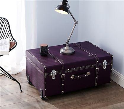 The Sorority College Dorm Trunk® - Downtown Purple