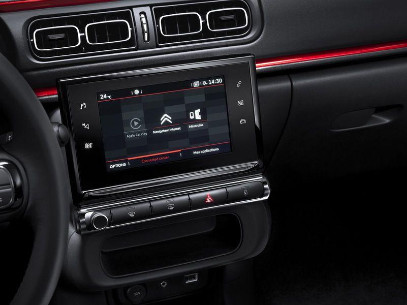 La technologie prend également place à l\'intérieur de cette C3, qui ...
