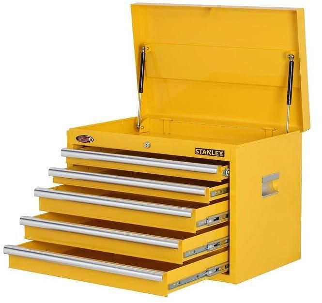 Stanley 5 Drawer Tool Chest 3 Colors Homedepot Com In