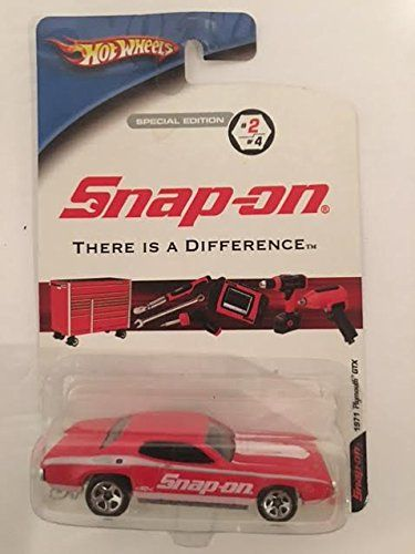 Snap On Hot Wheels Special Edition 2 Of 4 There Is A Difference 1971 Plymouth Gtx Red Color Hot Wheels Plymouth Gtx Hot