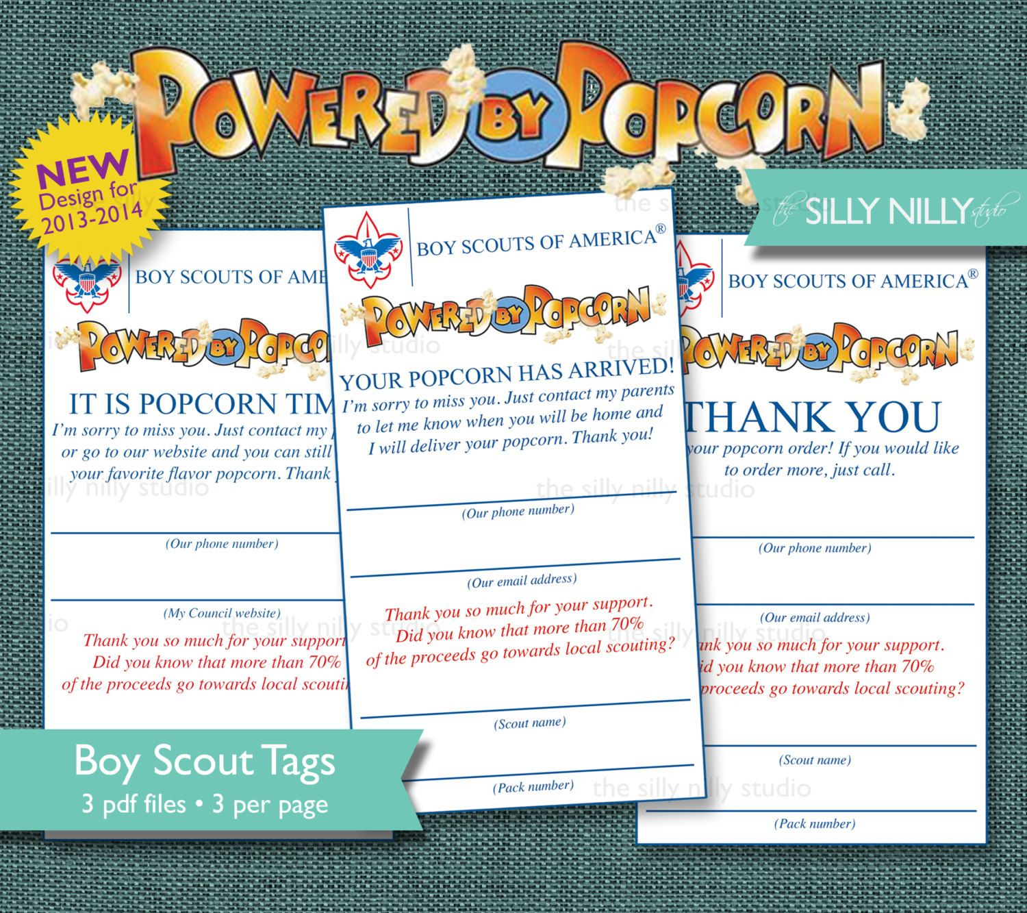 AUTOMATIC+DOWNLOAD+Boy+Scouts+Powered+by+by+thesillynillystudio,+$ ...