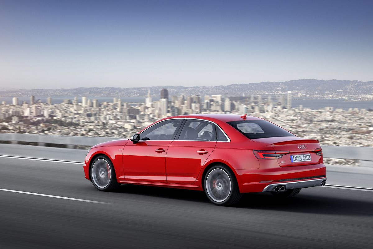 New Turbocharged #Audi S4  #cars #sportscars #turbo #quattro #luxury #inspirational  More Audi Fun -- http://www.motoringexposure.com/vehicle-make/audi/