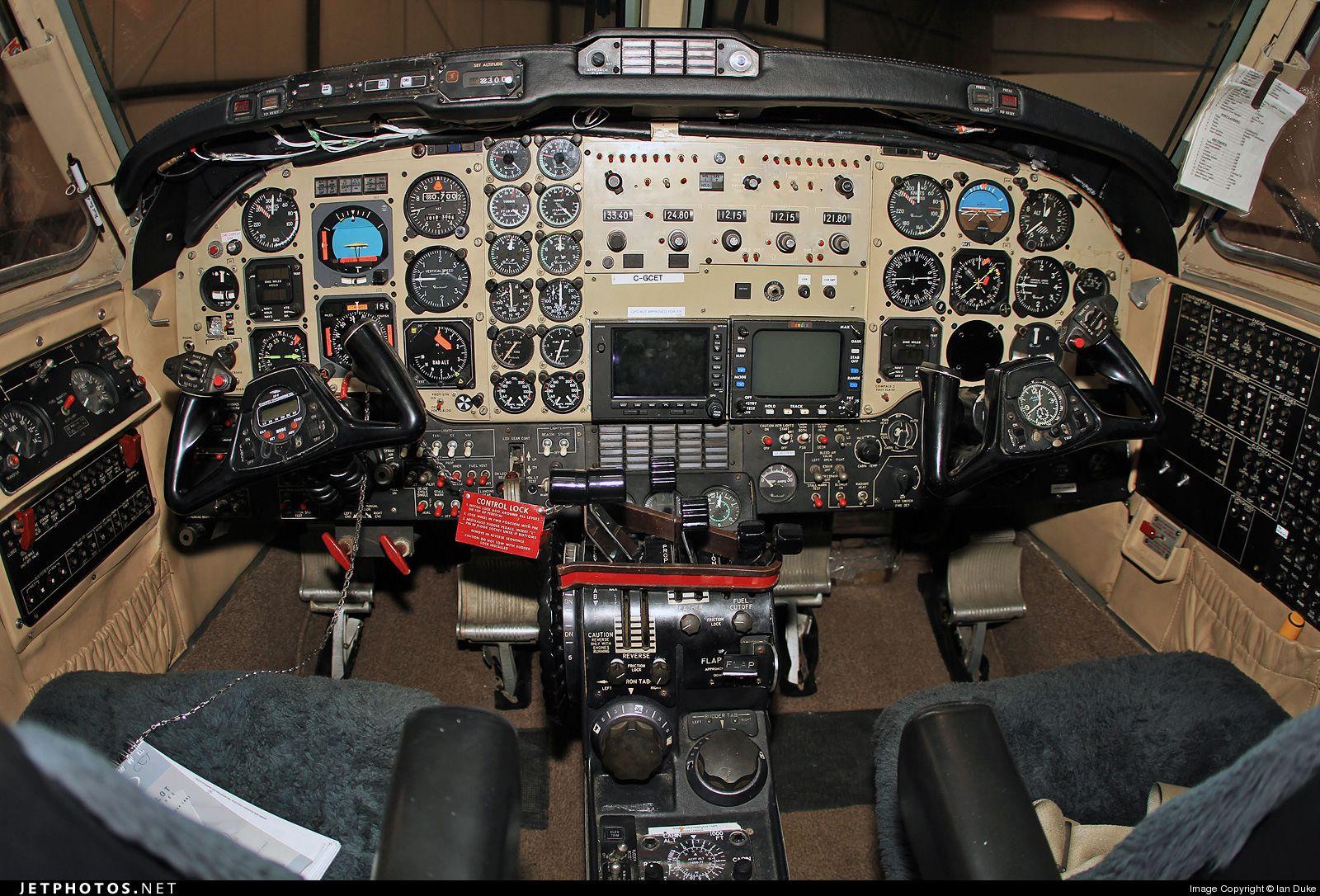 Beechcraft 200 Super King Air Cockpit, General aviation