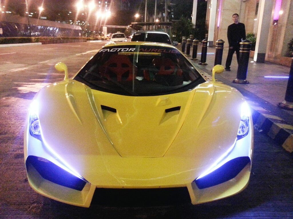 Aurelio, The Philippine Supercar Super cars, Cars, New cars