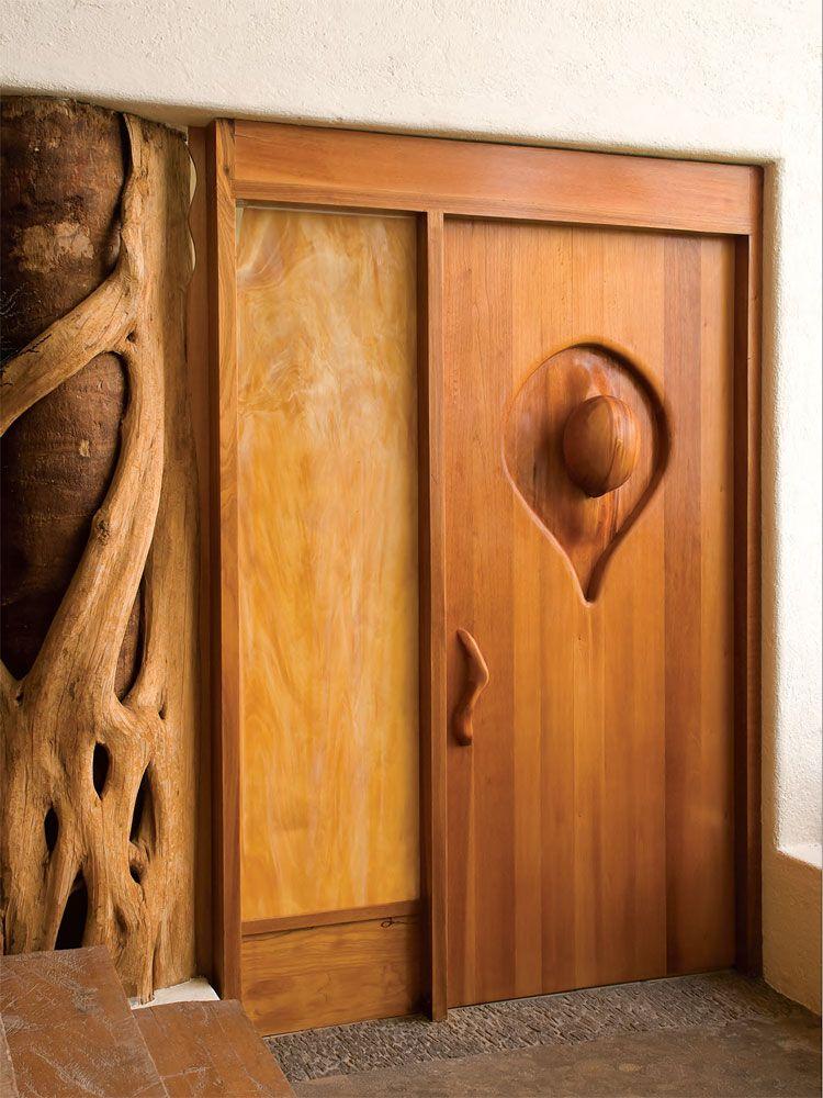 Inverted Teardrop Romance Door, Victor Klassen