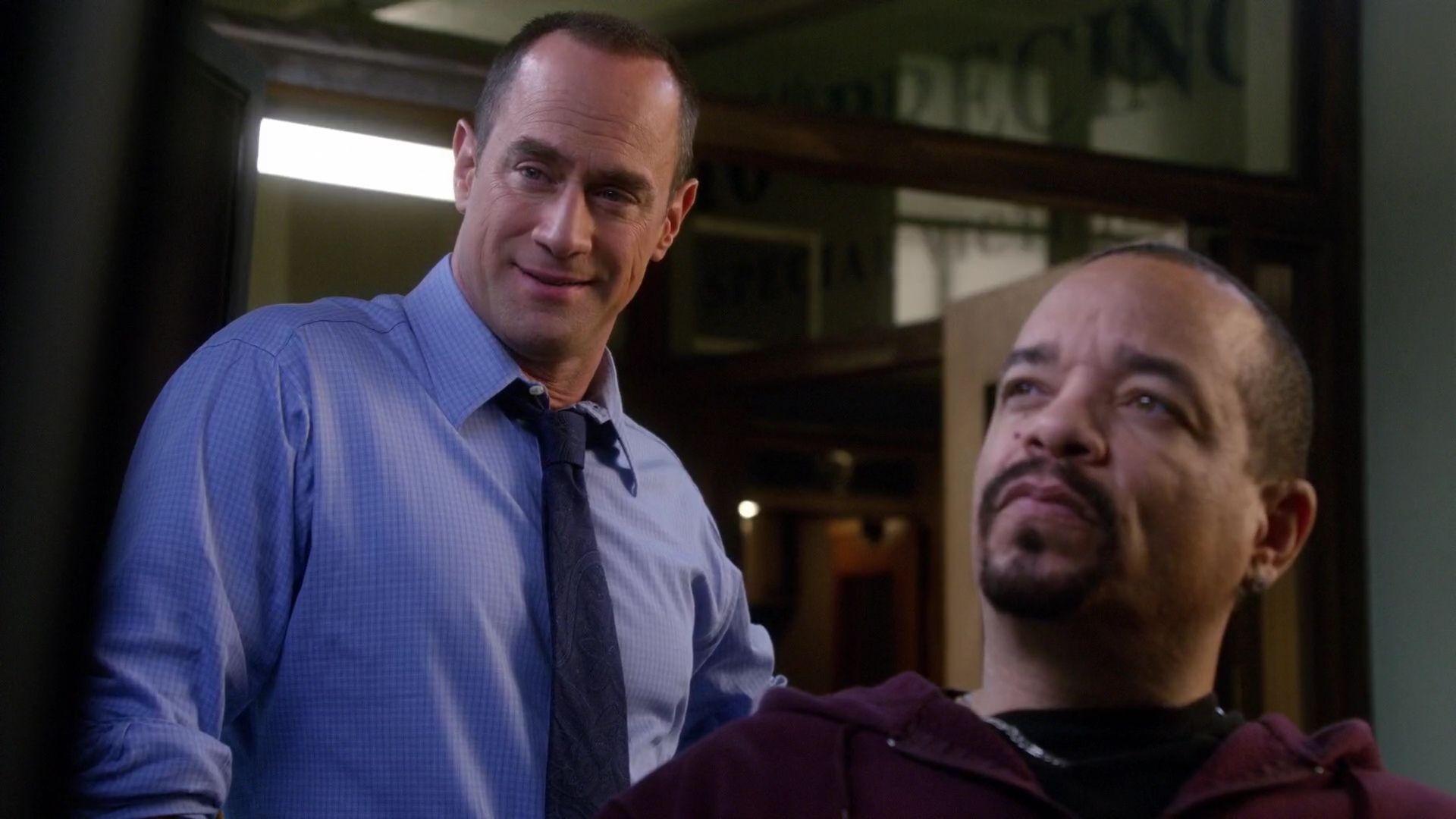 Detectives Elliot Stabler Fin Tutuola Season Twelve Law And Order Svu Special Victims Unit Chris Meloni