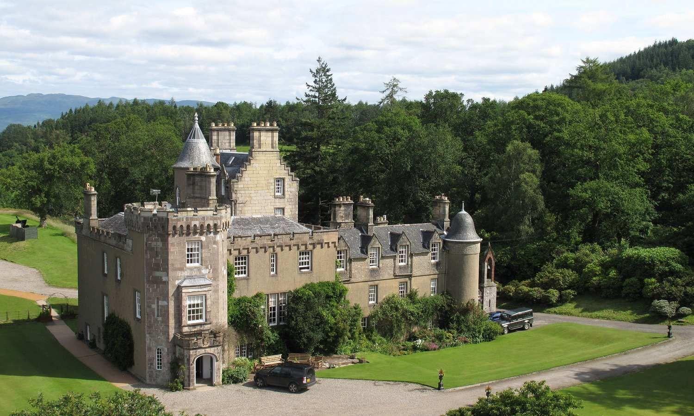 Boturich Castle, Loch Lomond, Ballach, near Alexandria