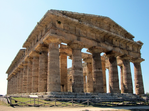 An Example Of Post And Lintel Architecture Hera Ii Paestum C 460 B C E In 2020 Ancient Roman Architecture Ancient Chinese Architecture Ancient Architecture