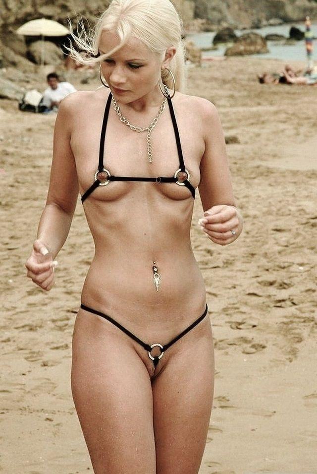 Husband wife nude public beach