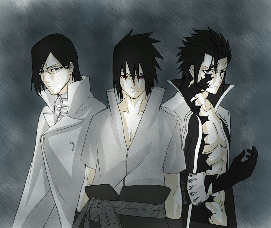 Dark Side Squad Assemble! (Uryuu Ishida, Sasuke Uchiha ...