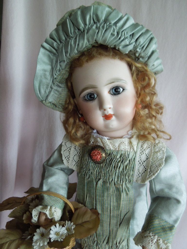"""SPECTACULAR 19"""" Jullien French Bebe Doll  Gandtiques Exclusive on Ruby Lane"""