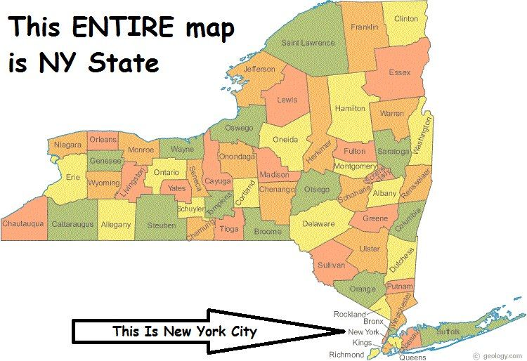 for people who confuse ny state with ny city we are not the same entity we need to split and stop financing the city