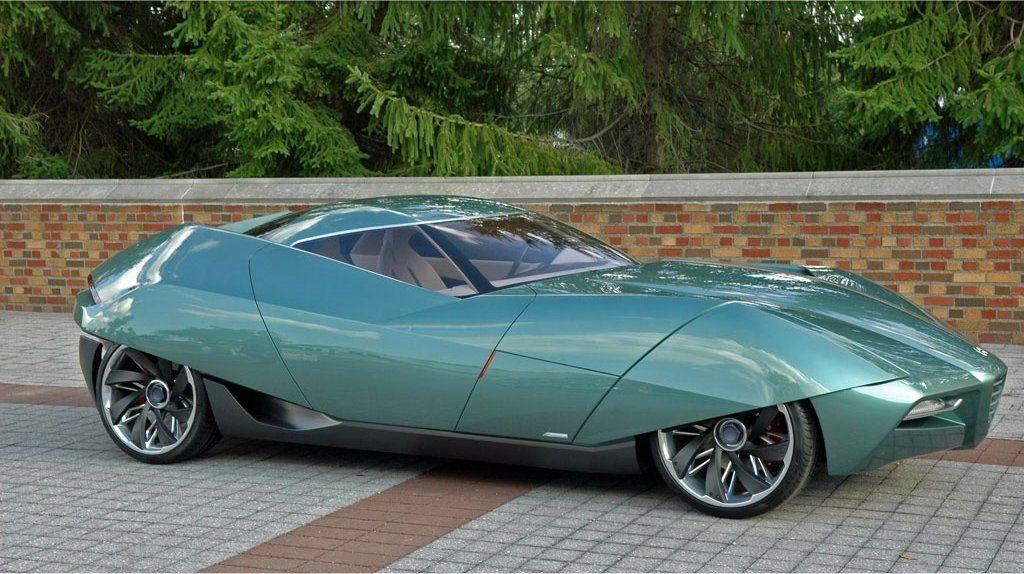 Alfa Romeo BAT 11 Aerodinamica Technica) by
