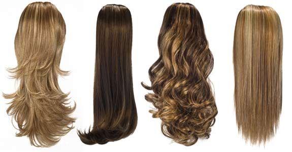 secrets ponytail clip in hair pieces