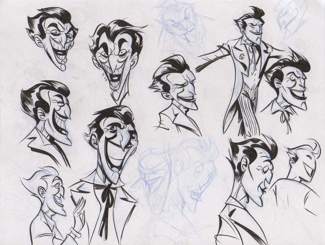 Derek Fridolfs - Character Design Page