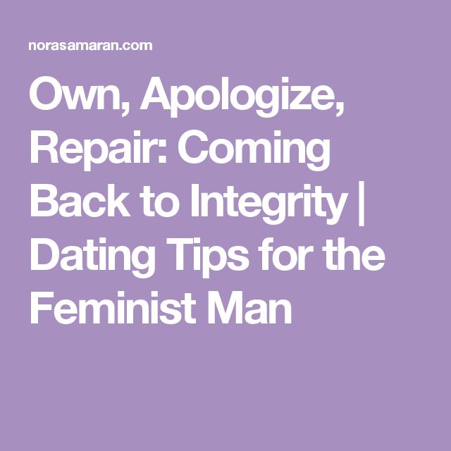 Dating tips feministische man dating een onafhankelijke vrouw Yahoo