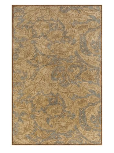 60% OFF Momeni Arabesque Collection Rug (Light Blue)