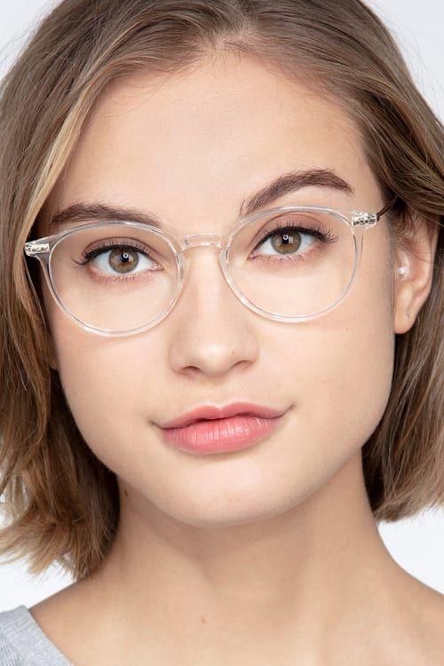 Photo of Amity – Runde Klarglasbrille   EyeBuyDirect