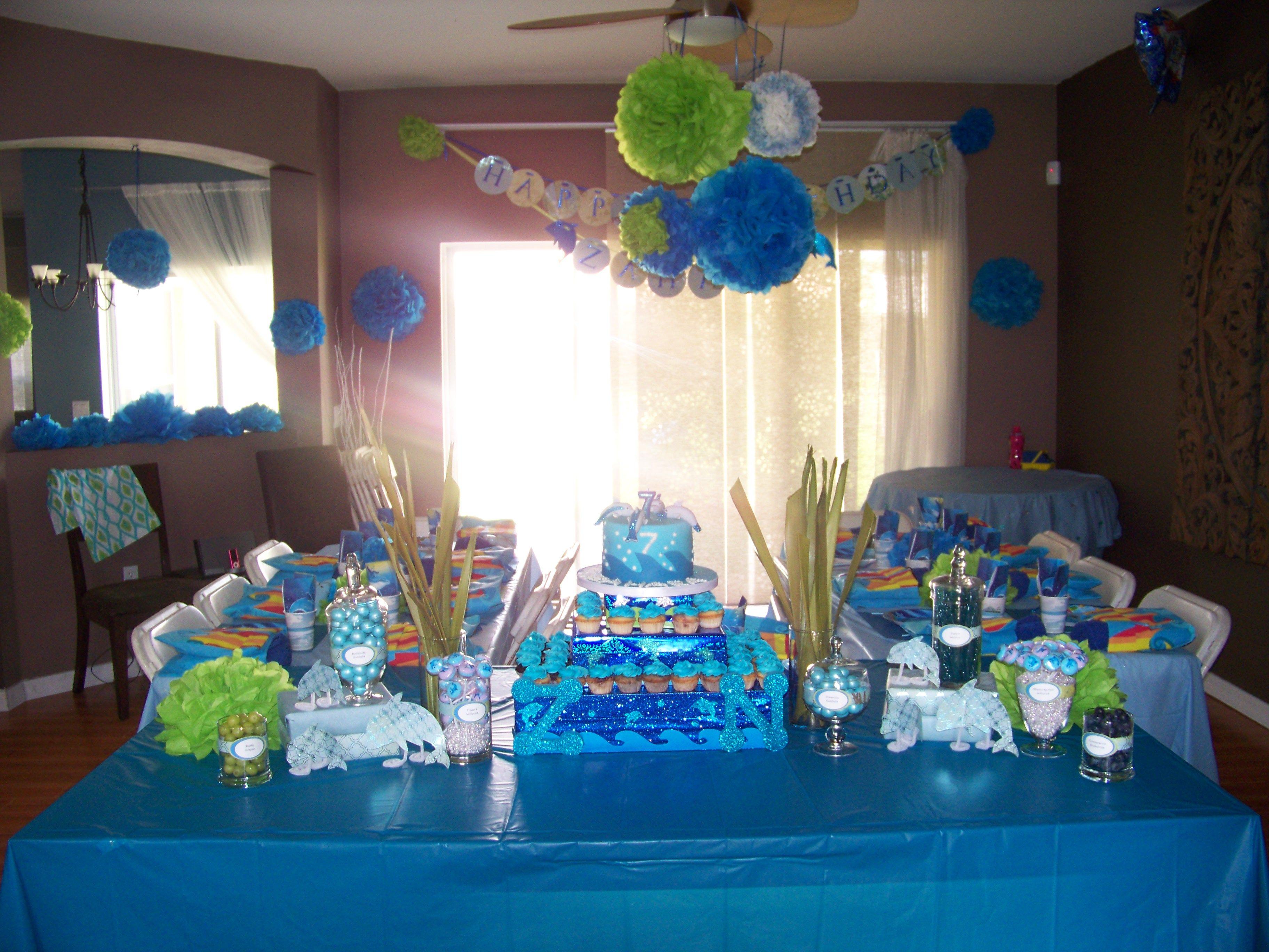 Birthday Birthday Party Ideas: Best 25+ Dolphin Birthday Parties Ideas On Pinterest