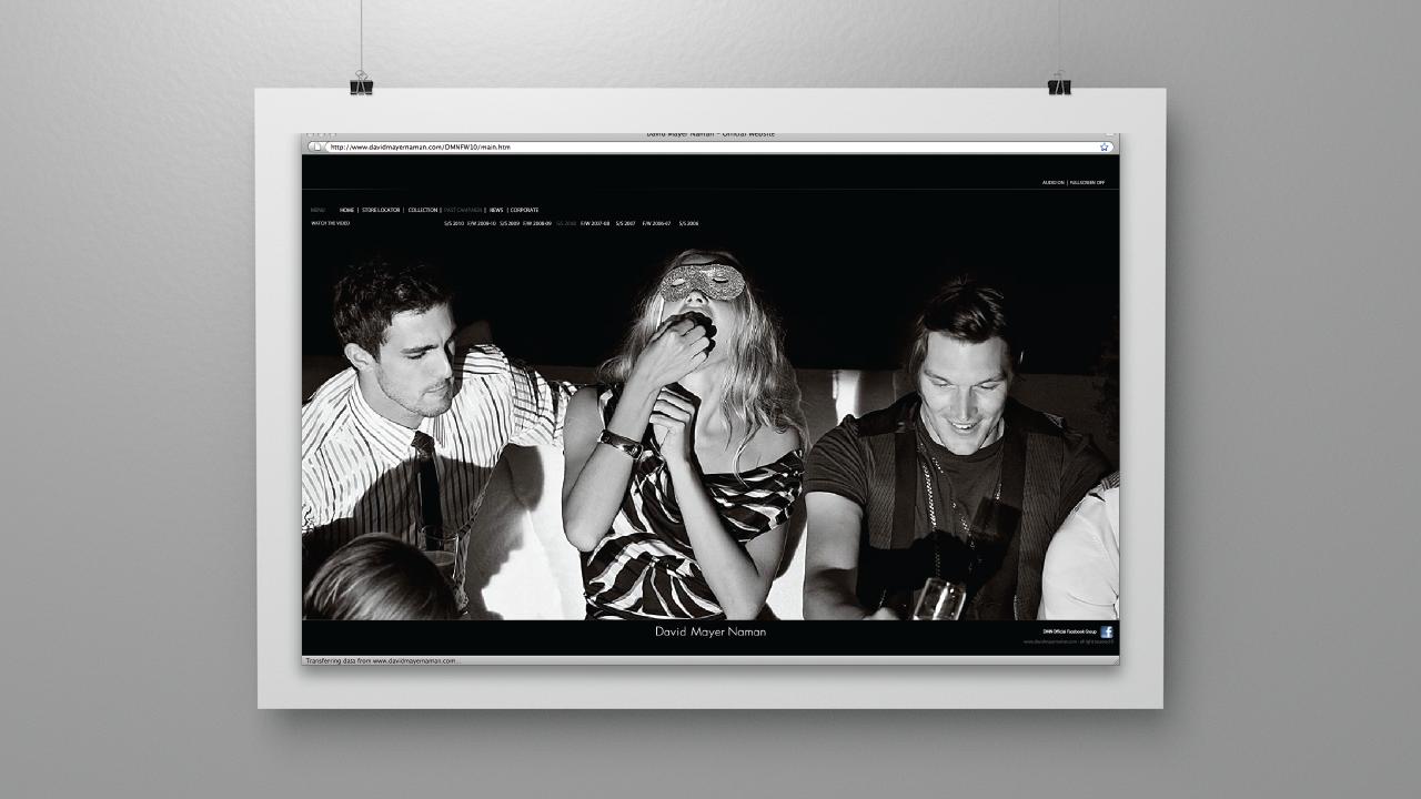 Flirty Culture – Creative concept for Italian men's fashion brand David Mayer Naman.