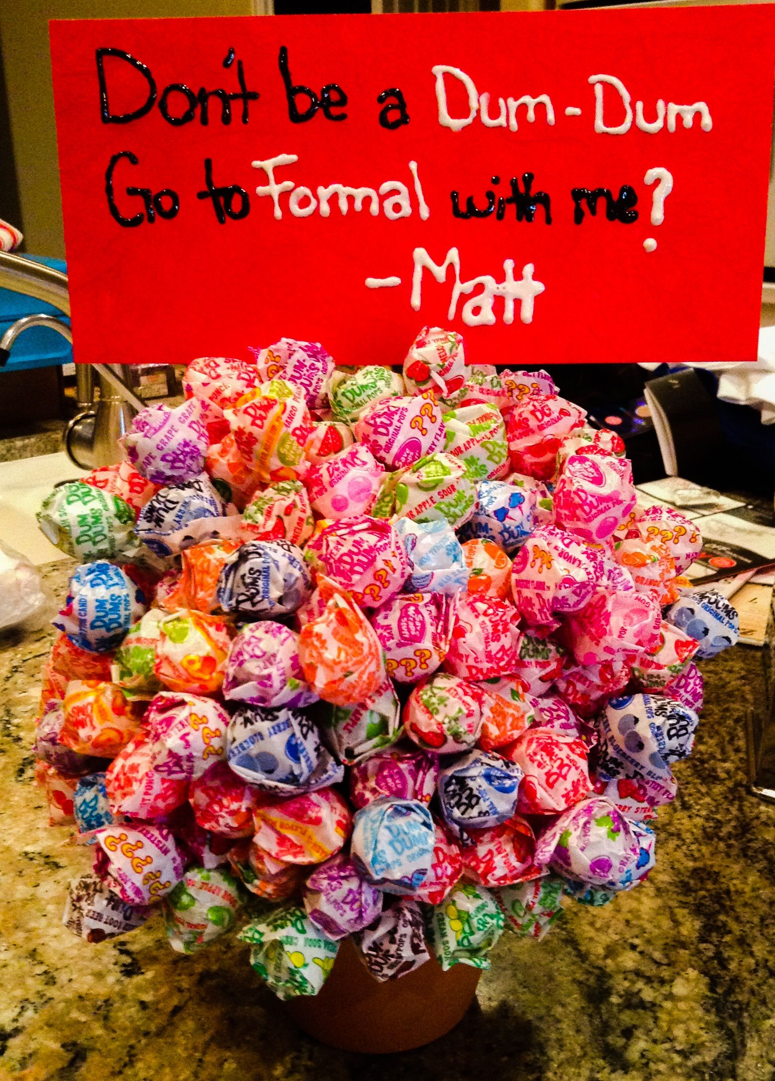 A simple homecoming to to ask ways girl Asking a