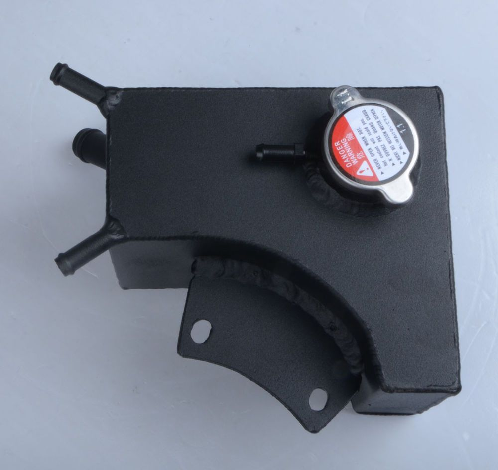 Aluminum Coolant Recovery Tank + Cap For Daewoo Lanos 1.6L ... on