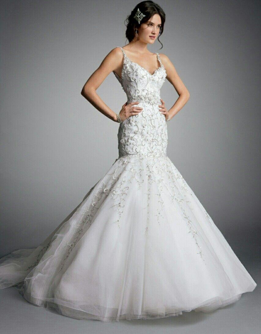 Amalia Carrara   Eve of milady wedding dresses, Wedding ...