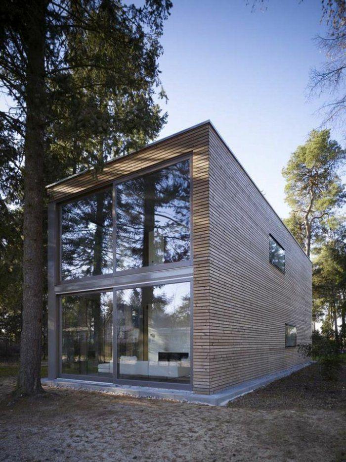 Le minimalisme en architecture contemporaine en 53 photos! Pension