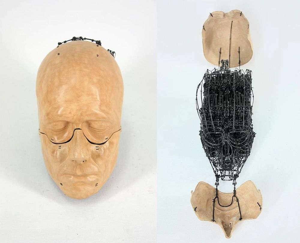 Anatomical Sculptures by Claude-Olivier Guay Transform to Reveal ...