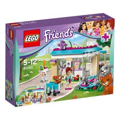 5eaf8eab0d2b77 Lego Friends 41085   La clinique vétérinaire Lego - Magasin de Jouets pour  Enfants