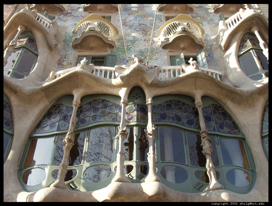 goudy the architech image architecture gaudi hd wallpaper a005