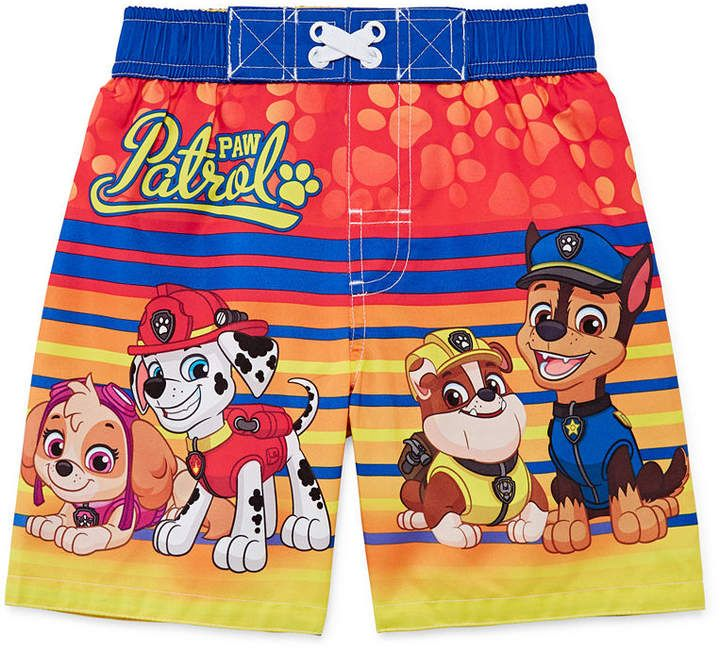 ab95b92b0b3a8 LICENSED PROPERTIES Paw Patrol Swim Trunks-Toddler Boys | Products ...