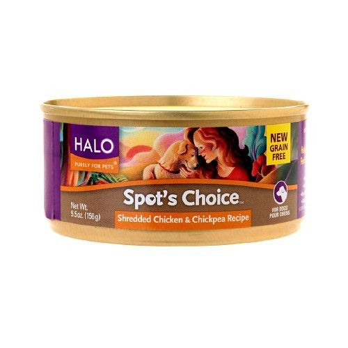 Halo, Purely For Pets Spot's Choice for Dogs, Chicken