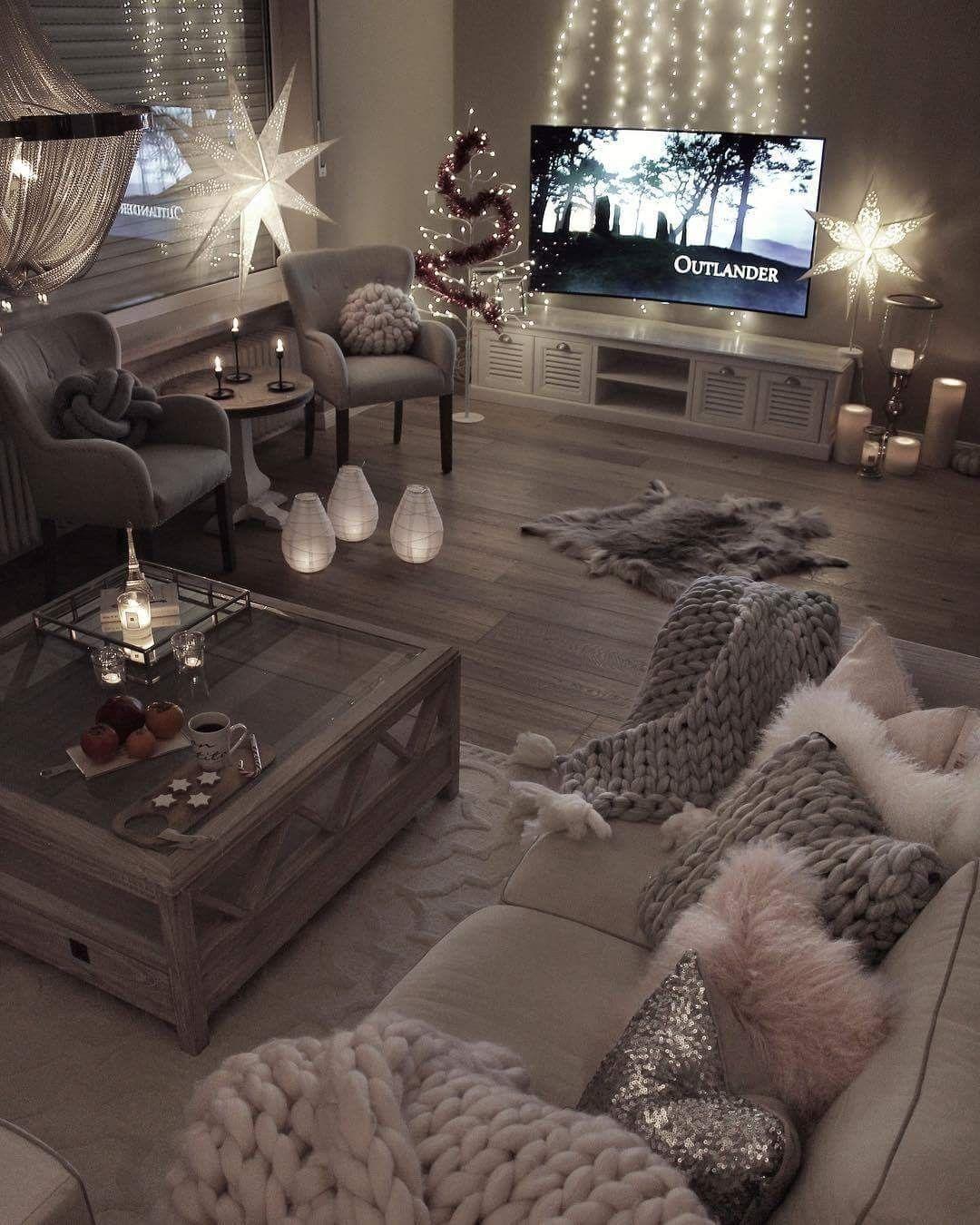 Pinterest Shesamericxn Cozy Living Rooms Living Room Inspiration Apartment Living Room
