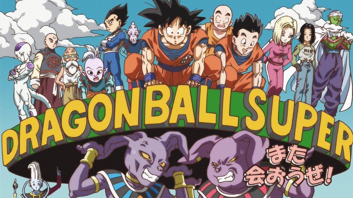 Dragon Ball Super Title Card Dragon Ball Dragon Ball Super Dragon Ball Dragon Ball Art