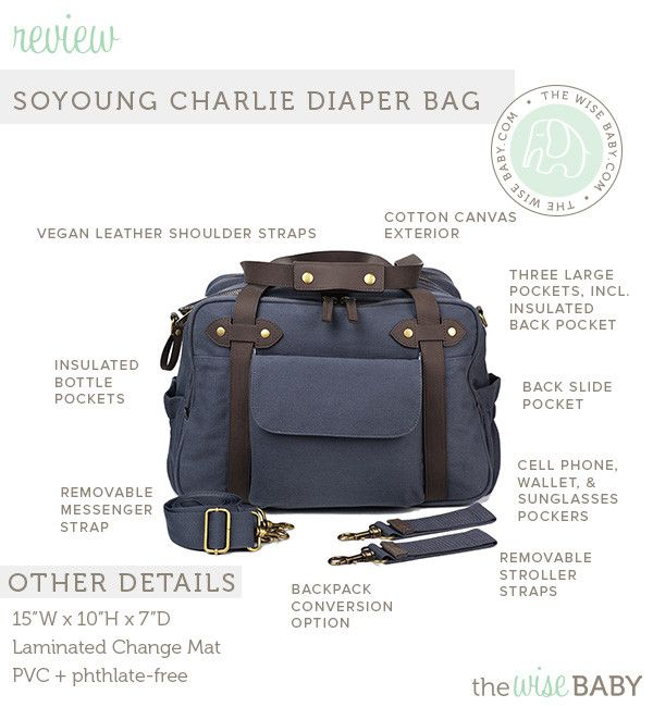 Soyoung Charlie Diaper Bag Review