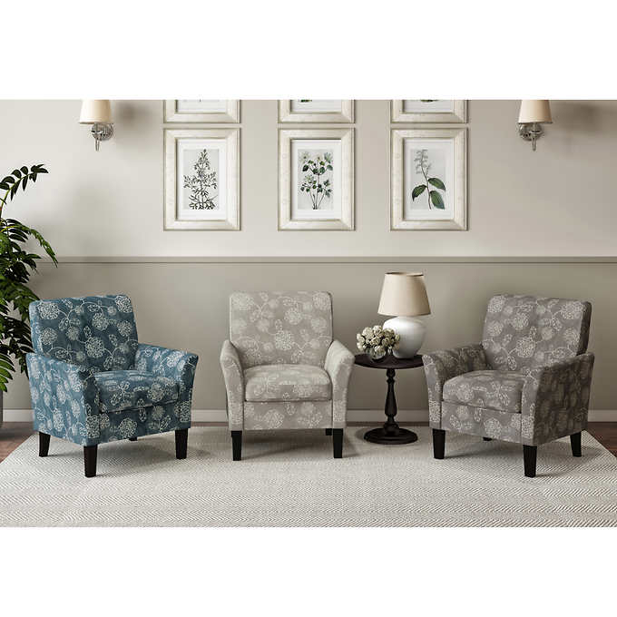 Demeur Fabric Accent Chair 2 Pack With Images Fabric Accent
