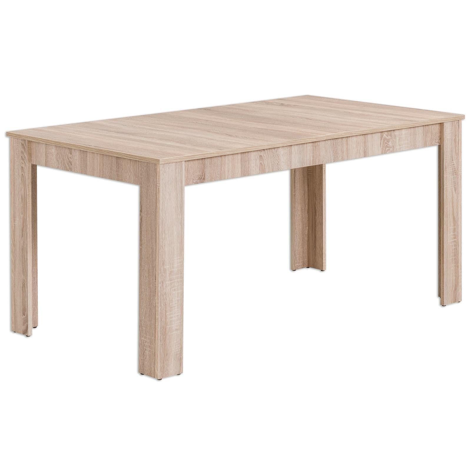 Schau Mal Was Ich Bei Roller Gefunden Habe Esstisch Eiche Sonoma Ausziehbar 160x90 Cm Esstisch Ausziehbar Moderne Esszimmer Tische Kuche Tisch