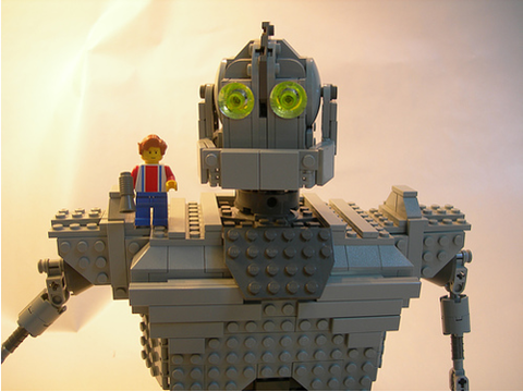 The Iron Giant Lego Art Lego The Iron Giant Lego Tv