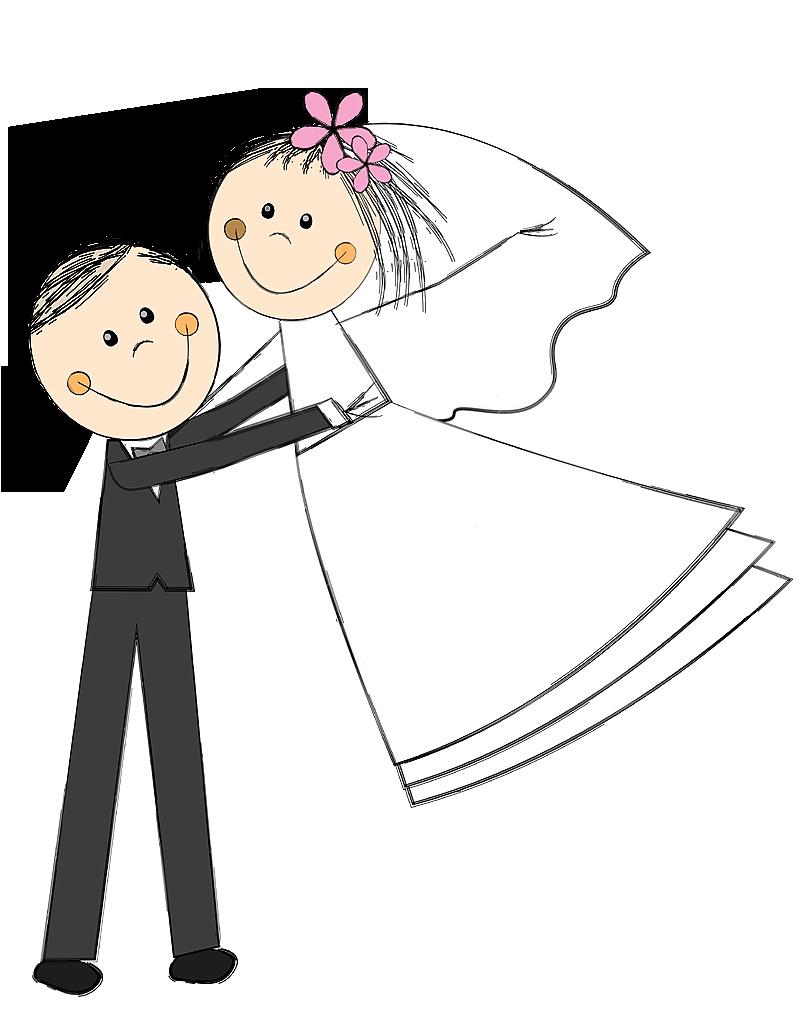 Casamento Clip Art Love Doodles Stick Figures
