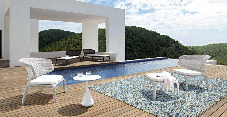 Mobilier piscine et objets déco pour créer un coin de repos ...